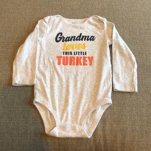 Carter's 'Turkey' Onesie, 24 months